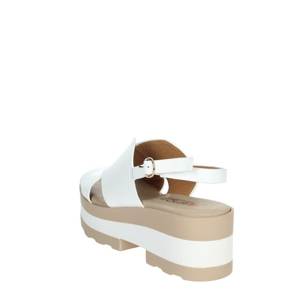 Repo Shoes Sandal White 61216-E1