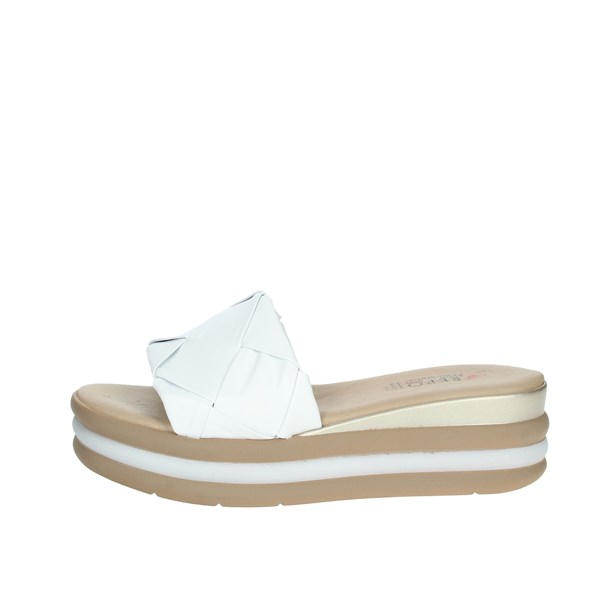 Repo Shoes Clogs White 12101-E1