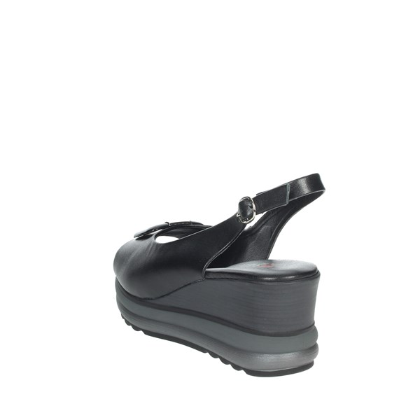 Repo Shoes Sandal Black 20428-E1