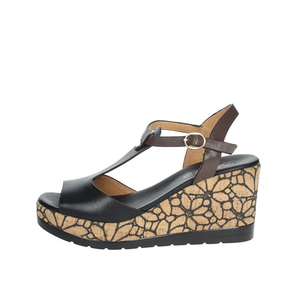 Repo Shoes Sandal Black 51233-E1