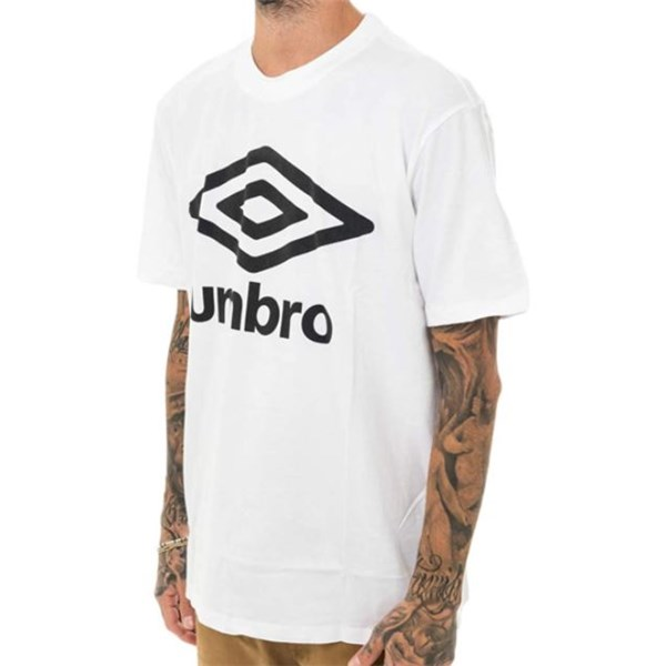 Umbro Clothing T-shirt White RAP00091B