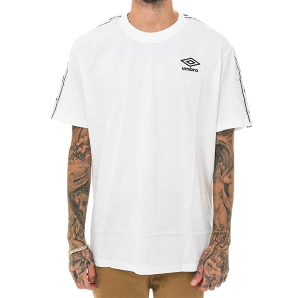 Umbro Clothing T-shirt White RAP00110B