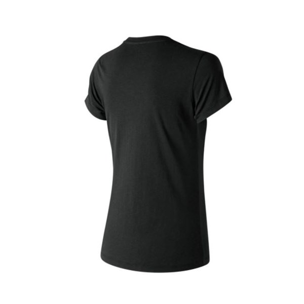 New Balance Clothing T-shirt Black WT91546