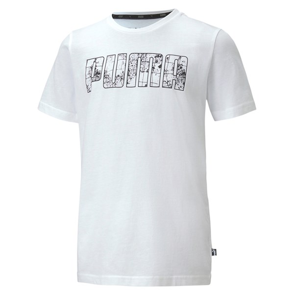 Puma Clothing T-shirt White/Black 583234