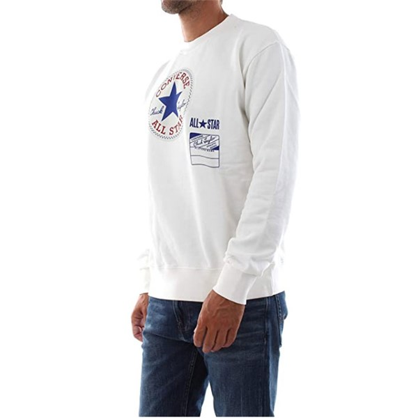 Converse Clothing Sweatshirt Creamy white 10021330-A01
