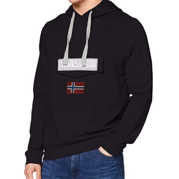 Napapijri Clothing Sweatshirt Black NP0A4EAV
