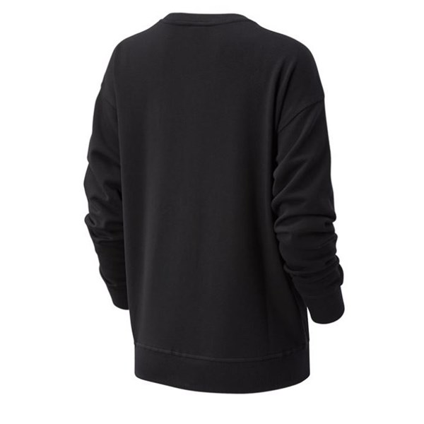 New Balance Clothing Sweatshirt Black WT03524