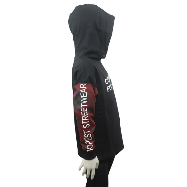 Comme Des F**kdown Clothing Sweatshirt Black/Burgundy MFCD9322J