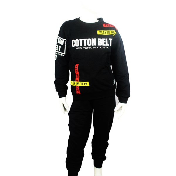 Cotton Belt Clothing Outerwear Black 7131T0164