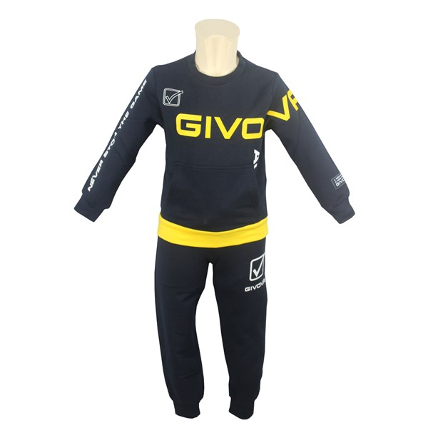 Givova Clothing Outerwear Blue/Yellow 7431T0034