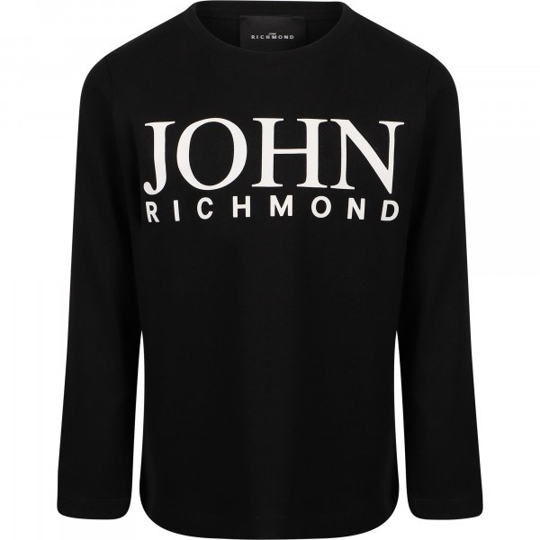 Richmond Clothing T-shirt Black RBP21124TS