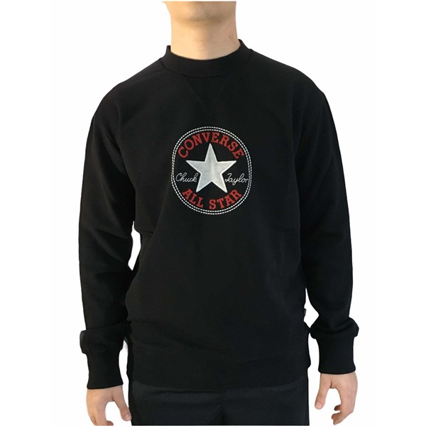 Converse Clothing Sweatshirt Black 10022584-A02