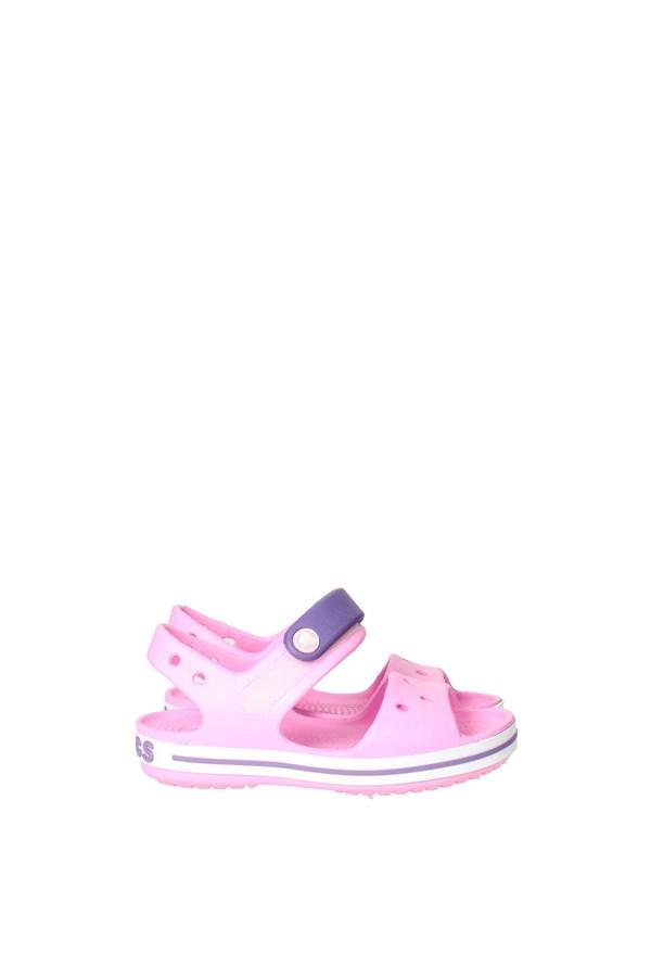 Crocs Sandalo Rosa Crocs Bambina Sandalo