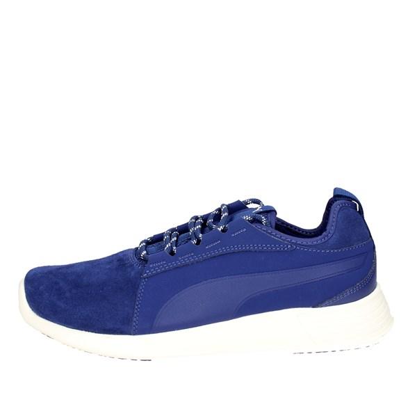 puma scarpe uomo blu