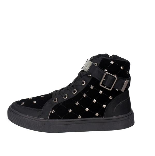 Donna Alta Braccialini Sneakers Nero
