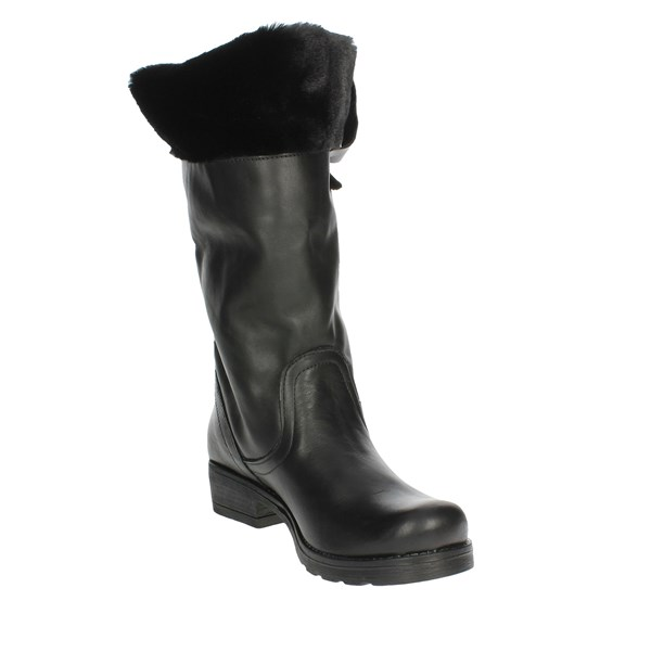 Cube' Shoes Boots Black 0011