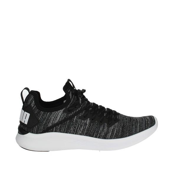 Sneakers Nero bianco Bassa Puma Uomo