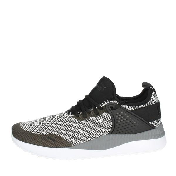 Su On Nerobianco Uomo Puma Line Sneakers Vendita zqfBqC