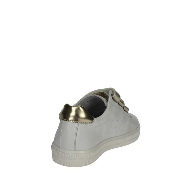 Sneakers Bassa Ciao Bimbi Bambina - BIANCO ORO - Vendita Sneakers ... b0ab41f5d45