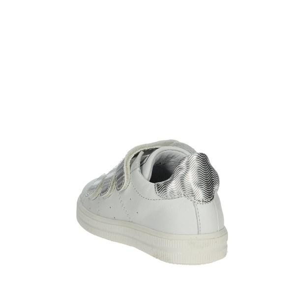 Ciao Bimbi Sneakers Bassa Bambina Bianco argento