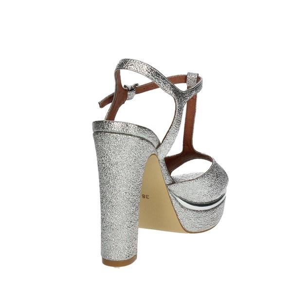 Barachini Sandalo Donna Luciano Argento