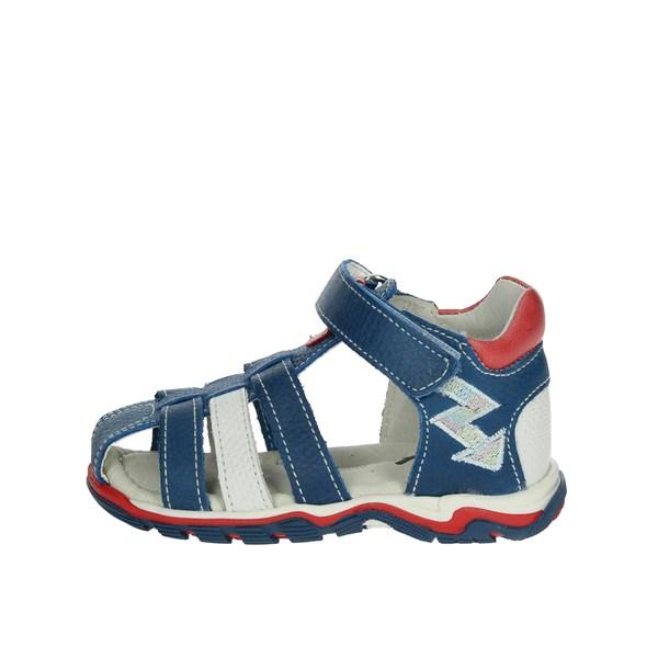 11c15ef9f2885 Sandali Mkids Bambina - BLU - Vendita Sandali On line su Shoespoint.biz