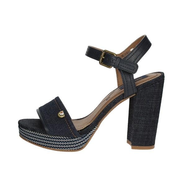 Wrangler Sandalo Donna Blu