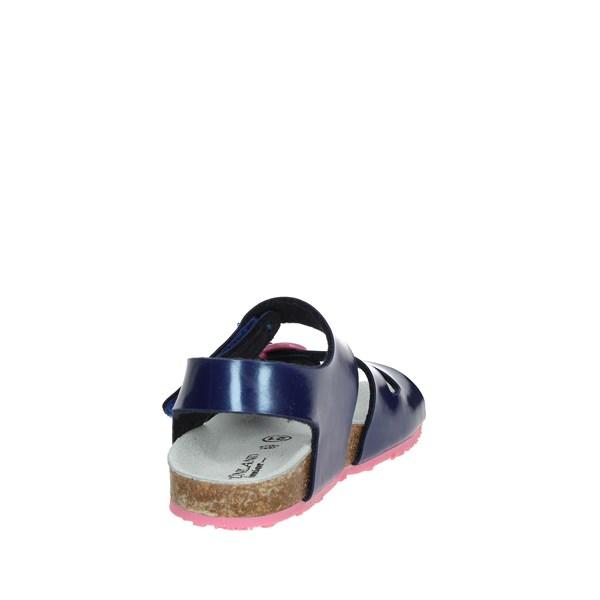 Sandalo Sandalo Blu Grunland Blu Bambina Bambina Grunland NOk8n0wPX