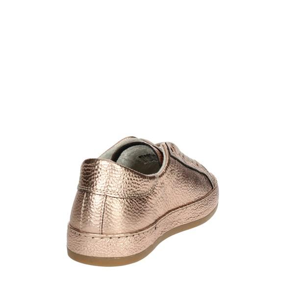 Sneakers bassa  D.a.t.e Pelle Donna Rame Cover-3i