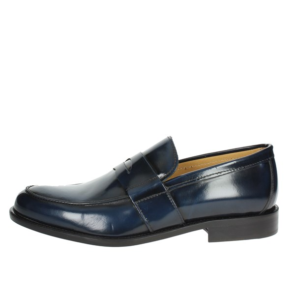 Hudson Shoes Loafers Blue 310