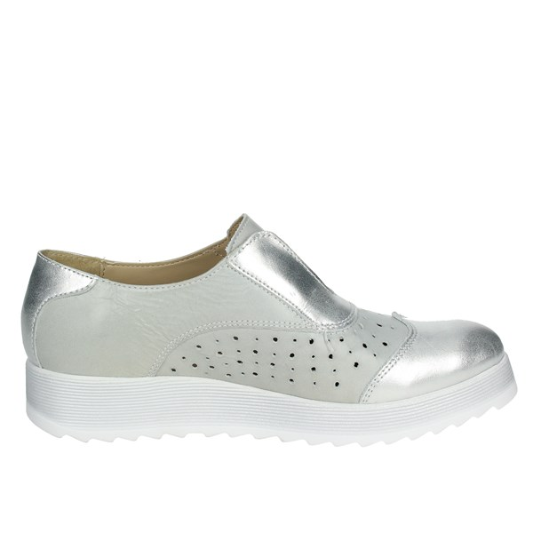 Cinzia Soft Sneakers Bassa Donna Grigio