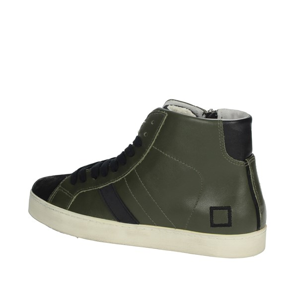 D.a.t.e. Shoes Sneakers Dark Green HILL HIGH-73I