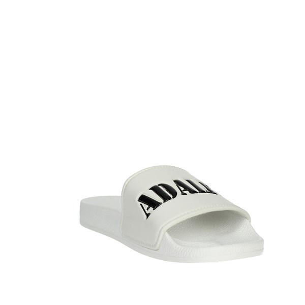 Adalet Shoes Clogs White AD1000