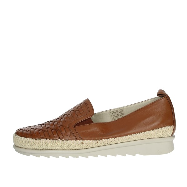 Cinzia Soft Shoes Moccasin Brown leather IV10736-AW