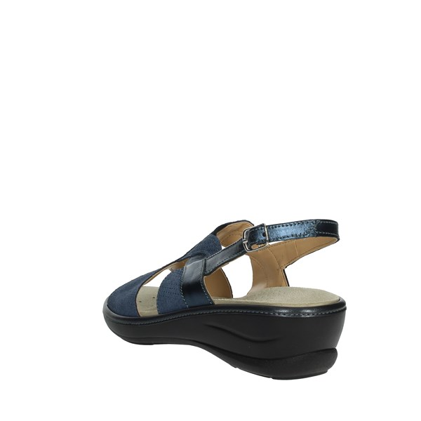 Cinzia Line On Soft Blu Su Tljk1fc Vendita Sandali Donna EDbeH2I9WY