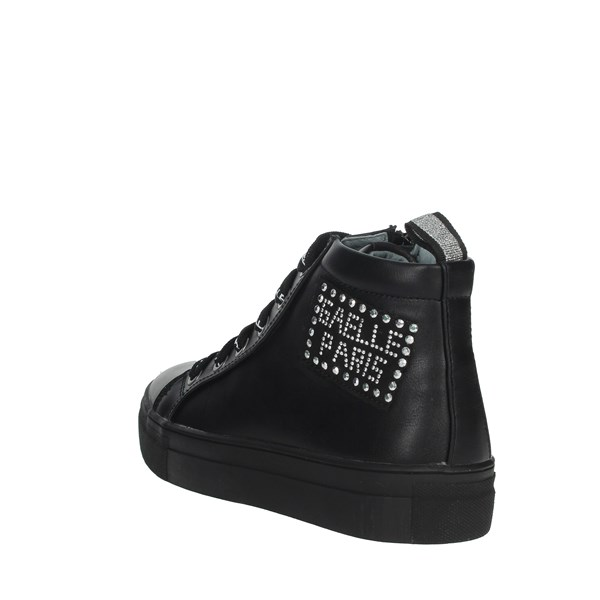 Gaelle Paris Shoes Sneakers Black G-007