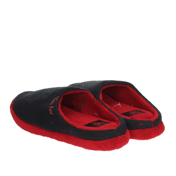 Tommy Mikino Shoes Clogs Black/Red 87321